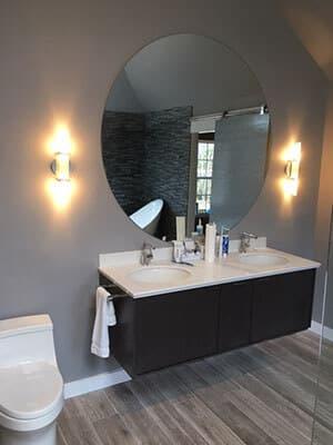 Fine 29 Inch White Bathroom Vanity Thick Plan Your Bathroom Design Rectangular Mosaic Bathrooms Design Reviews Best Bathroom Faucets Old Granite Bathroom Vanity Top Cost ColouredLighting Vanity Bathroom Bathroom Mirrors Fayetteville, GA   All Glass