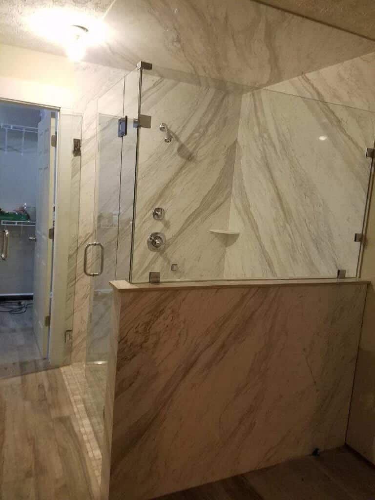 Bathroom Glass Partition Online