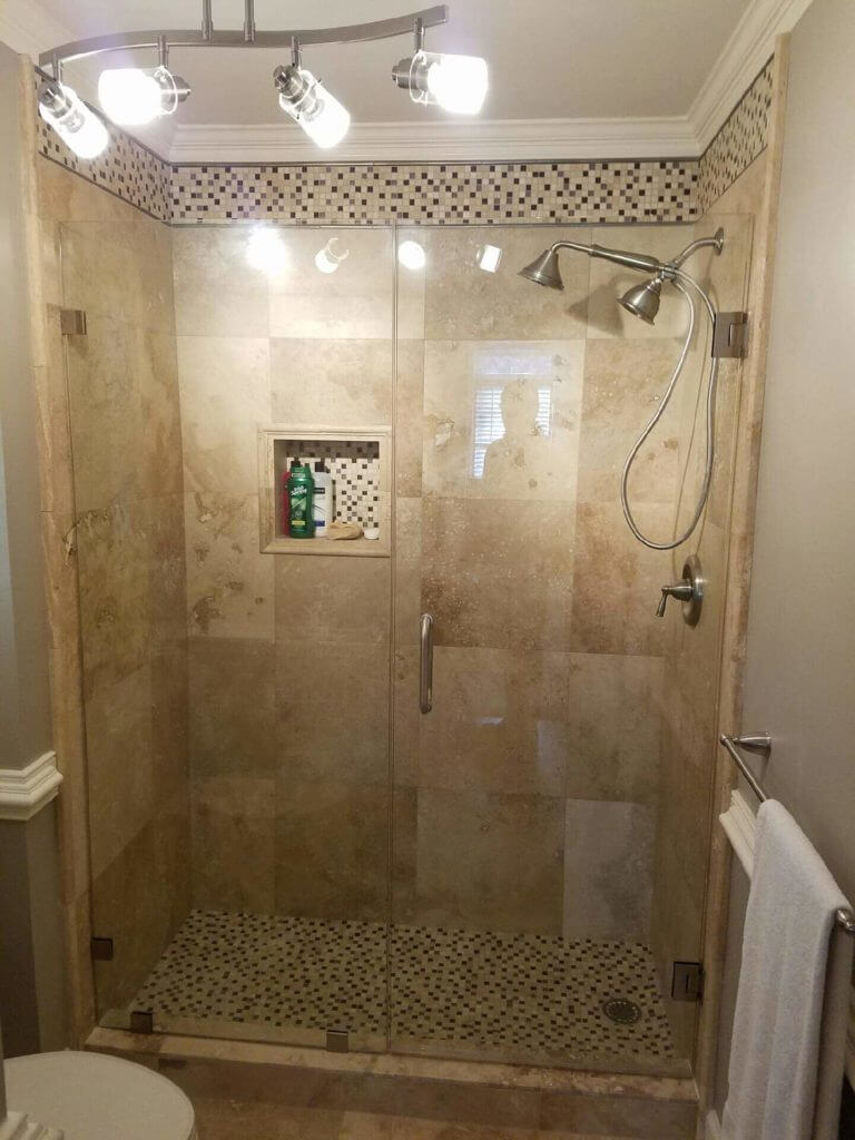 Custom Shower Glass Panels