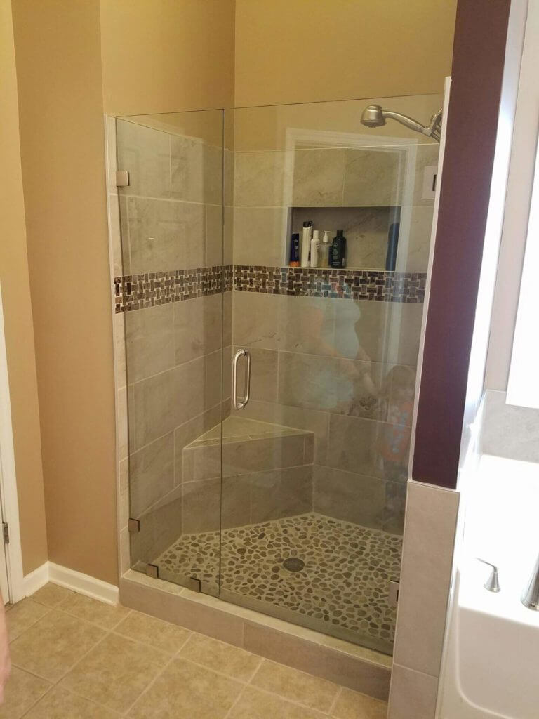 Bathroom Shower Glass Installation