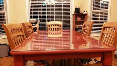 Custom Glass Top For Furniture